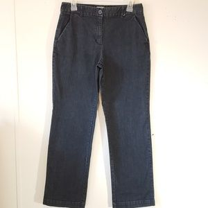 Talbots blue denim pants